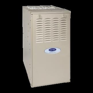 Carrier Infinity 80 Ultra-Low NOx gas furnace.
